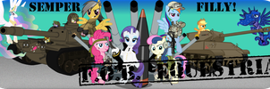 Stamp of Authenticity (FOB Equestria) Banner by Spangladesh