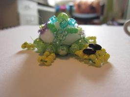 Beaded turtle by Chrissijulius