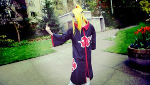 Deidara Cosplay at Sakura-Con! by POOTERSS