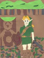 A Young Link by wandering-pen