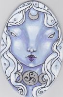 Moon Goddess for PPD by NibbleKat