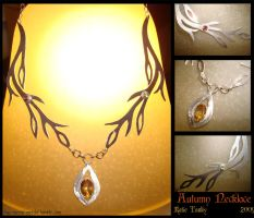 Autumn Necklace by bug-in-my-eye
