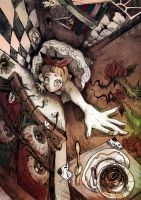 Alice in Claustrophobialand by einlee