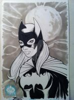 Batgirl Copic Sketch by RichardZajac