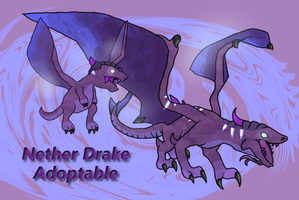 Nether Drake Adoptables by Ket-Shi