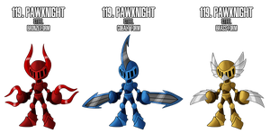 Fakemon: 119 by MTC-Studios