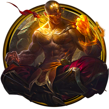 God Fist Lee Sin Dock Icon by OutlawNinja
