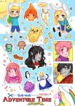 Cut-Out Adventure Time Stickers by oceantann