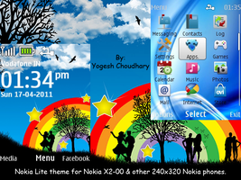 Nokia Lite 2.0 for Nokia 6300 and others. by cyogesh56