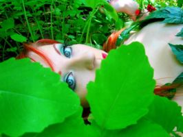 Poison Ivy close up by Foreveryoursalways