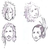 Faces by Irontree
