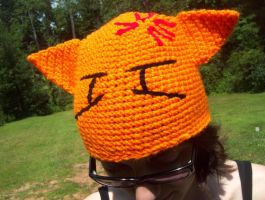Crochet Fruits Basket Kyo hat by YarnAlchemy