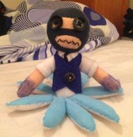 Team Fortress 2: Mike The Scouts Mr Tenta Plushie by Jack-O-AllTrades