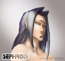 Sephiroth:not my job to care about the insect by SINKandSHTAYN