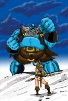 Frost giant by ThaneBobo