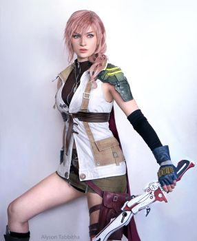 Lightning FF13 Cosplay by: Alyson Tabbitha by AlysonTabbitha