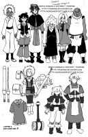 +QC+ Character Designs for Chapter 2 by TrashME