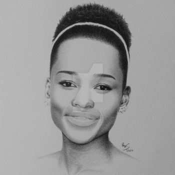 Lupita Nyong'o by FromPencil2Paper
