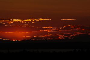 Another sunset in the north by JWFisher