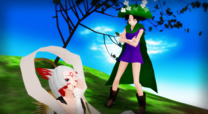 [MMD] ''Nothing to Yawn At, I'll Have You Know!'' by BlackHeartGoddess