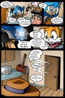 Sonic Unbound issue 5 page 10 by EvanStanley