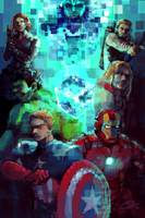 The Avengers by c-dra
