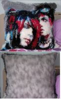 BOTDF Pillow by lovelywatermoon