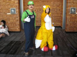 AE 2009- Luigi and Tails by PipoMadness1992