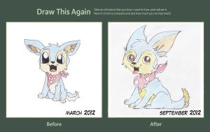 Draw This Again Meme: Baby Lupe by derpato