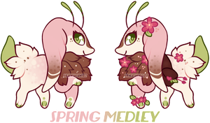 Bealet Auction - SPRING MEDLEY ( CLOSED ) by hunniebuzz