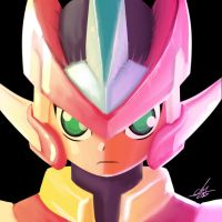 LEAGUE OF SELFIES:  MEGAMAN ZX by CharlyChive