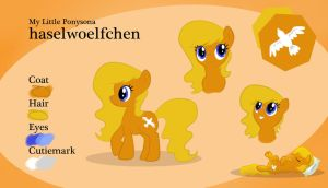 Ponysona Character Sheet: haselwoelfchen by haselwoelfchen