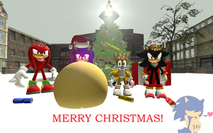 Merry Christmas! 2014 by SonicInflationLover
