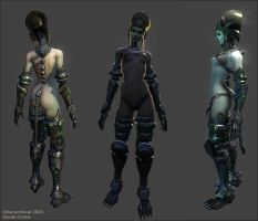 Undead Female by slipgatecentral