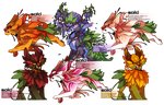 Flora + Fauna: RottRoots Batch 1 by OnionGrump