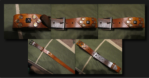 Leather Belt by Draco-McWherter