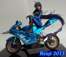 Kanu With Bike 01 by celsoryuji