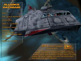X-Wing Aliance Tech Library - ATR 6 Transport by hangarbay94