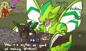Happy Birthday, Scy by GoldFlareon
