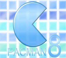 Blue Tiles Pacman8........... by pacman8