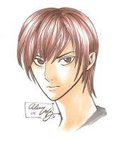Yagami Light by DaVolcomQueen