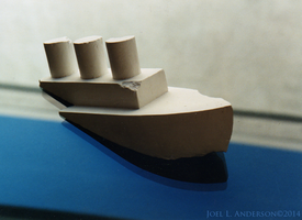 Toy boat for installation by joel3d