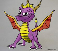 Spyro the Dragon by smartguy123