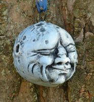 Full Moon Ornament 3 by Boggleboy