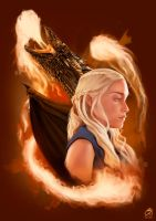 Mother of Dragons by EricHenrique