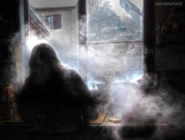 Smoke in the kitchen by JoelRemy222