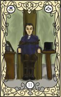 Les Mis Tarot: 11 Justice by RiderRRiddle