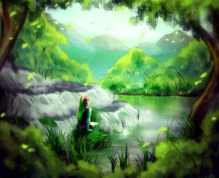 Peace and nature by AngelLust155