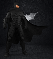 Batman Arkham Origins - Black Noel Batman by IshikaHiruma