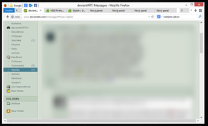 The new version of Firefox Ribbon UI by luxorus